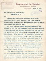 Construction Inspection Report of John Charles for March 1905