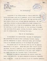 Excerpt from Health Inspection Report of Dr. Joseph A. Murphy for February 1909