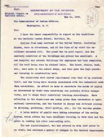 Inspection Report of Estelle Reel for May 1908