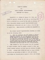 Brief of Charges and Answers Against Superintendent Moses Friedman