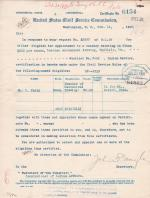 Appointment Certification for William C. Terry