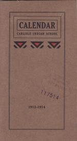 Academic Calendar for 1913-1914 and Request for Chaperone to Escort Girls to Church