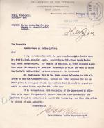 Request for Enrollment of George Manawa