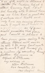 Request for Re-Enrollment of Alfred DeGrasse