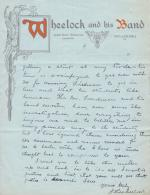 Request for Return Home of Hugh Wheelock