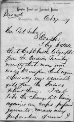 Recruitment of Female Students from the Indian Territory for Hampton