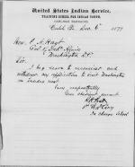 Withdrawal of Request to Visit Washington, D. C.