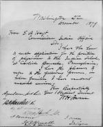 Application for Employment from W. H. Stevens