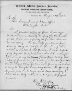 Request to Purchase Food for Student Health, 1880-1881 Fiscal Year