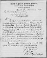 Request to Purchase Supplies, First Quarter 1881