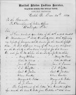 Corrections to Report of Irregular Employees, September 1880