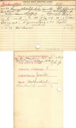 Henry Blatchford Student File