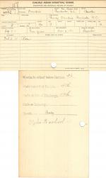 James Oxendine Student File