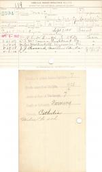 John Hearty Student File