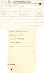 Homer Patterson Student File