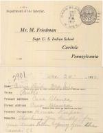 Carrie Reed Student File