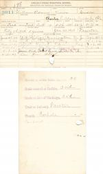 William Adams Student File