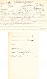Manley George Student File