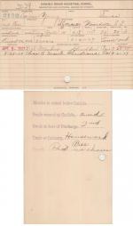 Louise Young Student File