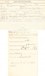 William Hornbuckle Student File
