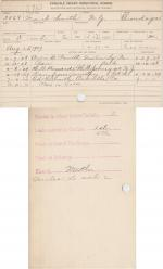 Frank Smith Student File