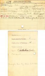 Charlie Cole Student File