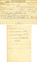 Moses Gray Student File