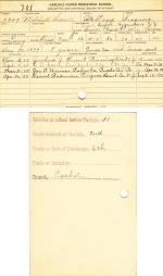 Mitchell Smith Student File