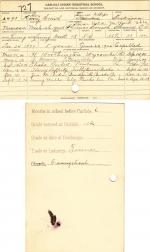 Henry Smith Student File