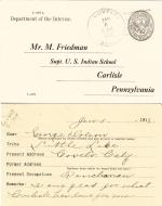 George Dalson Student File
