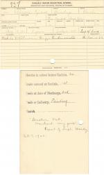 Christopher Tyndall Student File