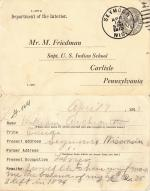 William Archiquette Student File