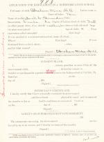 Abraham C. Hill Student File