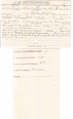 Archie Wheelock Student File