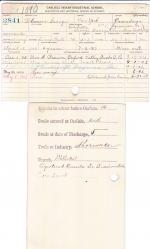 Gilmore George Student File