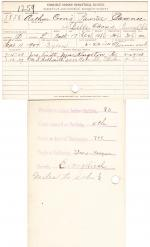 Arthur Coons Student File