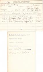 Helen Whitecalf Student File