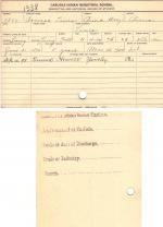 Yonessa Lewis Student File