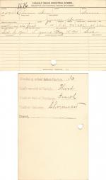 Clarence Snow Student File