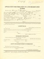 Henry Thomas Student File