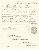 William Brewer Student File