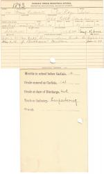 Moses Culbertson Student File
