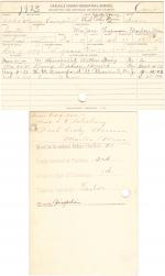 Henry Campbell Student File