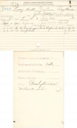 Lucy Hill Student File