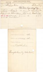 Abraham Cole Student File