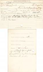 Louis Cook Student File
