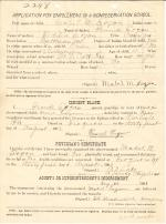 Mabel Logan Student File