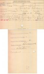 Mary Gates Student File