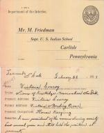 Victoria Standing Bear Student File
