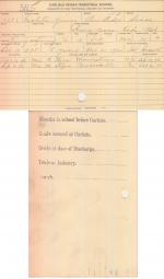 Isabella Young Student File